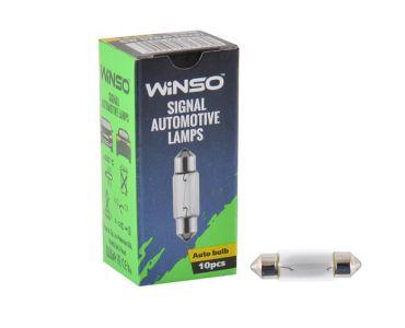 Лампы накаливаниея в Днепре - Лампа Winso 12V SV8.5 T11x37 C5W 5W 713180
