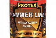 Эмаль молотковая PROTEX Hammer Line чёрная - 1