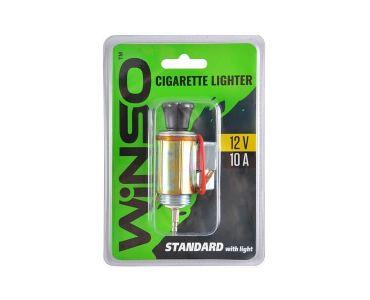Прикуриватель, провода прикуриватели в Днепре - Прикуриватель автомобильный WINSO стандартный с подсветкой (210130)