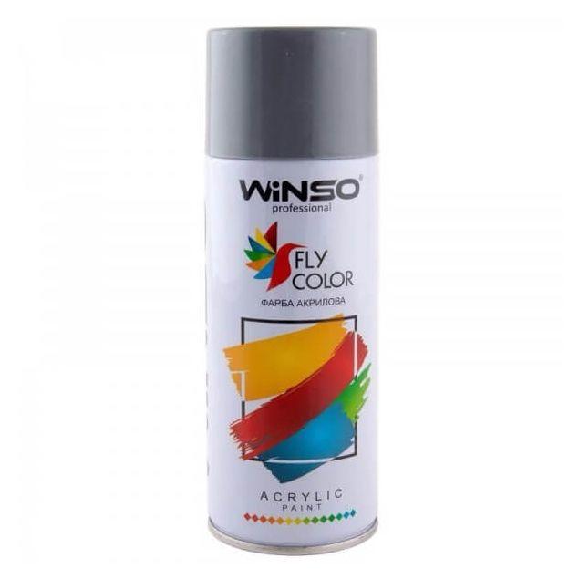 Вінсо Фарба акрилова,Spray 450ml.,темно-сірий,(DEEP GREY/RAL7031) - 1