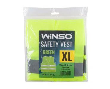 - WINSO Вінсо Жилет сигнальний, зелений, розмір XL (149100) -