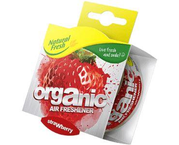 - Ароматизатор Elix Organic Can PURE with Lid Strawberry -