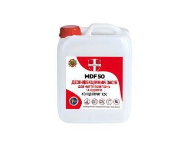 ПАСТЫ И ОЧИСТИТЕЛИ ДЛЯ РУК - Средство дезинфицирующее Medical MDF 50 для мытья поверхностей Концетрат 5л - Пасты и очистители для рук
