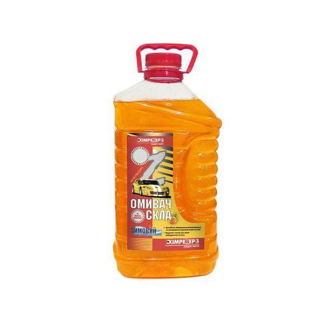 Омыватель стекла зимний -20 ХИМРЕЗЕРВ Апельсин 4л - 1