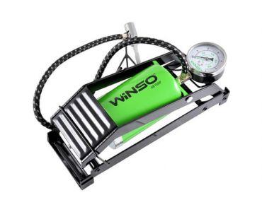 Автомобильный насос в Днепре - Насос автомобильный ножной WINSO с манометром (120220)