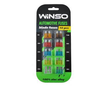 Предохранители в Днепре - Предохранители Winso стандарт 10 шт (155200)
