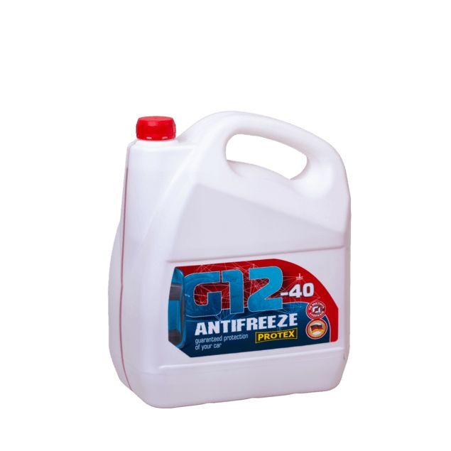 Антифриз красный -40 PROTEX G12 4,6 кг - 1