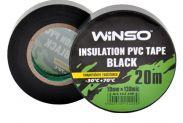 Изолента Winso ПВХ черная 20м / 19 мм - 1