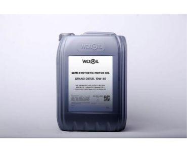 Автомасла - Масло моторное Wexoil Grand Diesel 10W-40 20л - Автомасла