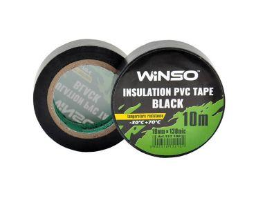 Изолента в Днепре - Изолента Winso ПВХ черная 10м / 19 мм