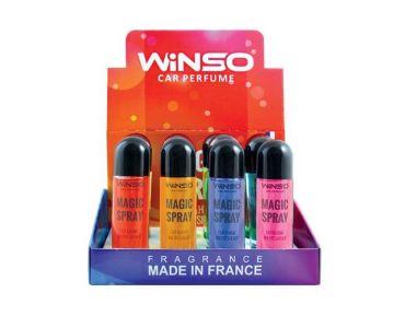 Ароматизатор в машину - Набор ароматизаторов WINSO серия MAGIC Spray MIX 1 500032 -