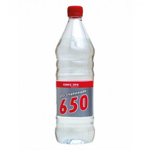 Розчинник Р-650 ХІМРЕЗЕРВ 0,5 л - 1