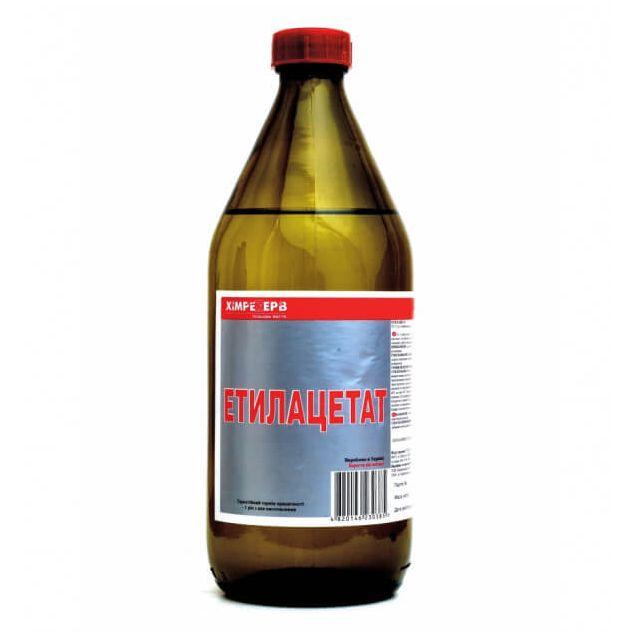Этилацетат маркаА ХИМРЕЗЕРВ 0,5л - 1