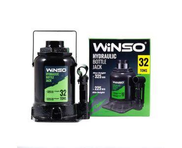 Домкраты автомобильные - Домкрат гидравлический бутылочный WINSO 170320 32т 225-325мм