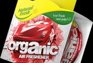 Ароматизатор Elix Organic Can PURE with Lid New Car - 1