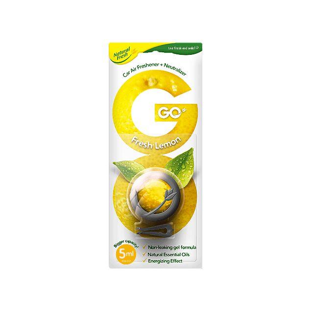 Ароматизатор Elix GO GEL Fresh Lemon - 1