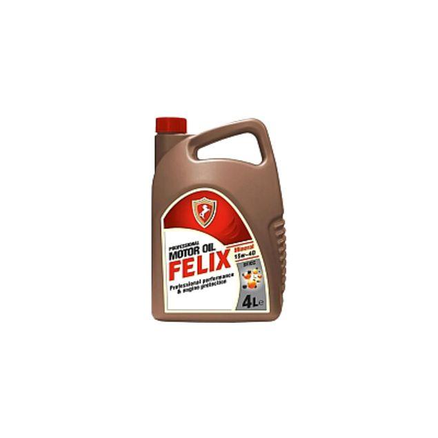Масло моторное Felix Mineral SAE 15W-40 API SF/CC 4л - 1