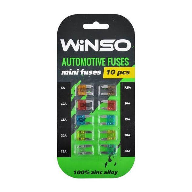 Предохранители Winso мини 10 шт (155100) - 1