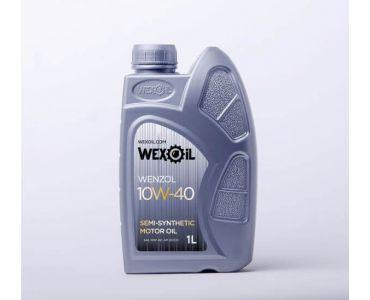 Автомасла - Масло моторное Wexoil Wenzol 10W-40 1л - Автомасла