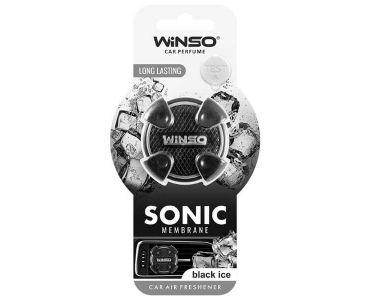 Ароматизатор в машину - Ароматизатор Winso Sonic на дефлектор Black Ice 531120