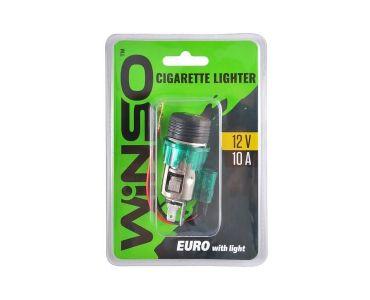 Инструменты в Днепре - Прикуриватель автомобильный WINSO евро с подсветкой (210110)