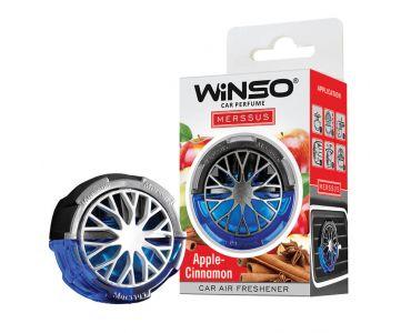 Ароматизатор в машину - Ароматизатор WINSO Merssus на дефлектор Apple Cinnamon 534390