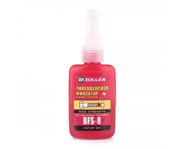 Герметики и клеи - Zollex Фиксатор резьбы красный 50г BFS-8