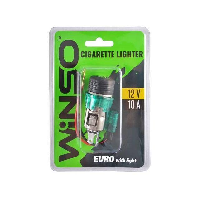 Прикуриватель автомобильный WINSO евро с подсветкой (210110) - 1