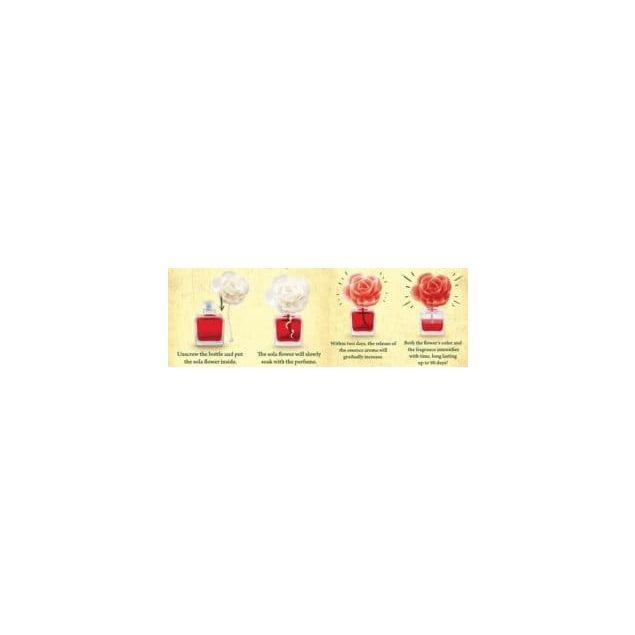 Аромадиффузор в форме розы Elix GB Red Rose - 4
