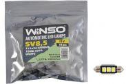 LED лампа Winso C5W 12V SMD5050 SV8.5 T11x36 Canbus 127560 - 1