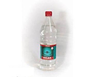 Технические жидкости - Вода дистиллированная Химрезерв 1л - Технические жидкости