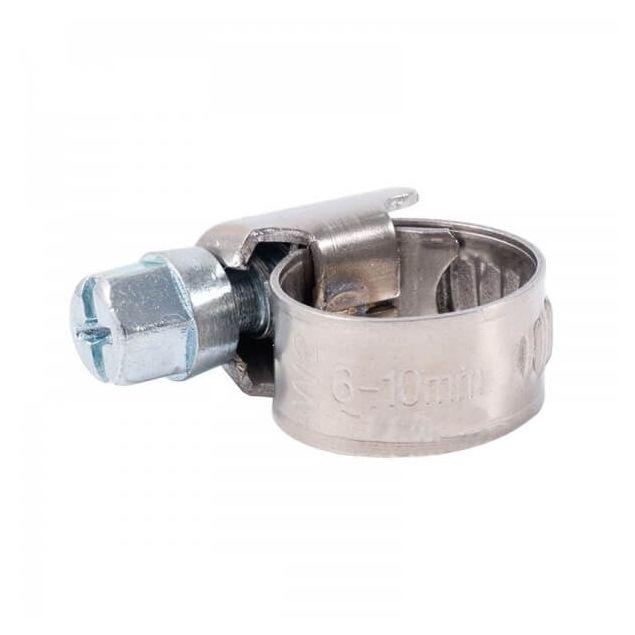 Вінсо Хомути металеві нерж. сталь 6-10,9 мм W2 (100шт.) - 1