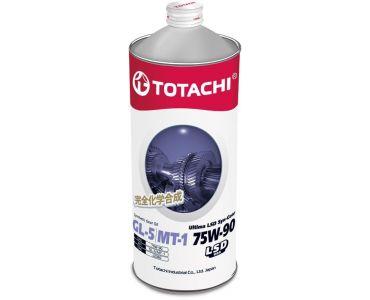 Автомасла - Масло трансмиссионное TOTACHI ULTIMA LSD SYN-GEAR 75W-90 GL-5/MT-1 1л - Автомасла