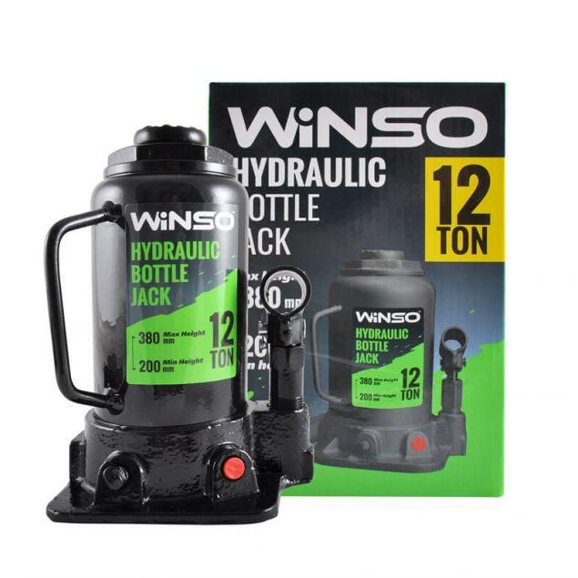 Домкрат бутылочный WINSO 171200 12т 200-380мм - 1