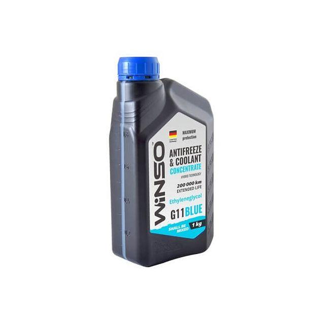 Антифриз-концентрат Winso G11 1 кг Blue - 2