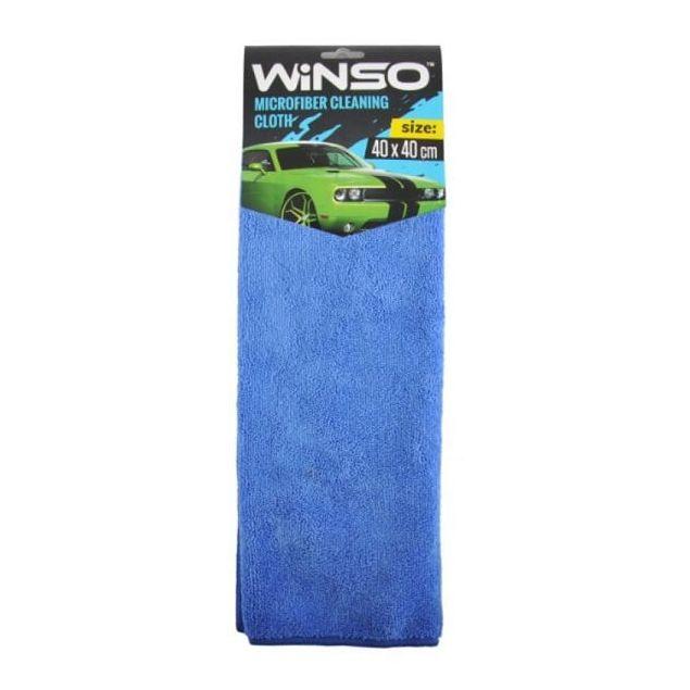 Салфетка из микрофибры WINSO 40х40см, синяя (150300) - 1
