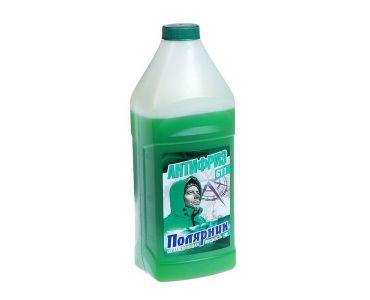 Охлаждающие жидкости в Днепре - Антифриз Полярник -40 зелёный 1кг