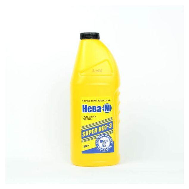 Тормозная жидкость Нева-М желтая 1л - 1