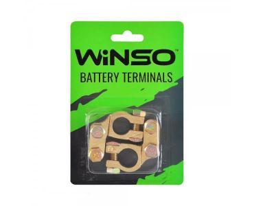Клеми акумуляторні АКБ - Акумуляторні клеми Winso 146400 -