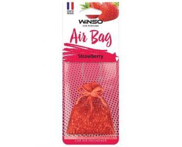- Ароматизатор WINSO AIR BAG Strawberry 530430 -