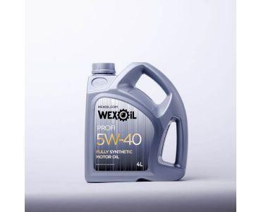Автомасла - Масло моторное Wexoil Profi 5W-40 4л - Автомасла