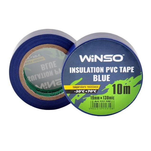 Изолента Winso ПВХ синяя 10 м (153100) - 1