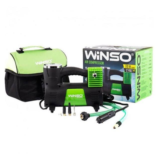 Компрессор автомобильный WINSO 133000 170 вт - 1