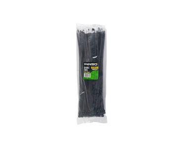 Хомути - Хомути пластикові WINSO 276400 7,6x400 мм Чорні -