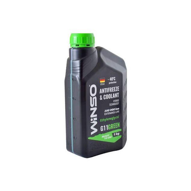 Антифриз Winso Green G11 -40 1 кг Зеленый - 2