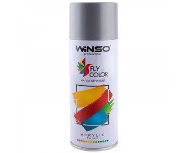 Краска для авто - Краска Winso Spray серебристо-серая SILVER GREY RAL9022 880340 450мл - КРАСКА ДЛЯ АВТО