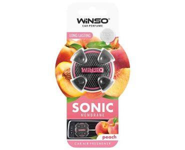 Ароматизатор в машину - Ароматизатор Winso Sonic на дефлектор Peach 533200