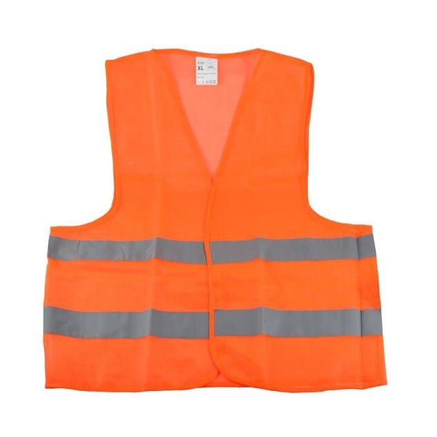 Жилет безопасности светоотражающий WINSO XL Оранжевый 149200 - 2