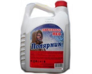 Охлаждающие жидкости в Днепре - Антифриз Полярник -40 красный 5кг