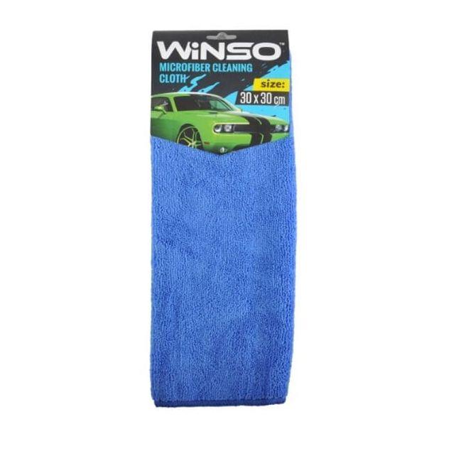 Салфетка из микрофибры WINSO 30х30см, синяя (150100) - 1